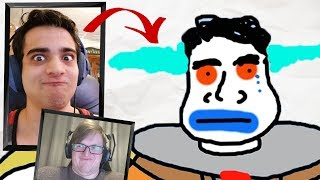Drawing each other... Badly (ft. Taurtis)
