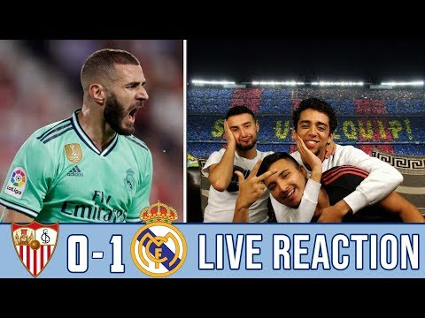 BENZEMAAAA ! 3 POINTS IN THE BAG AWAY FROM HOME! | REACTION - REACCIONES