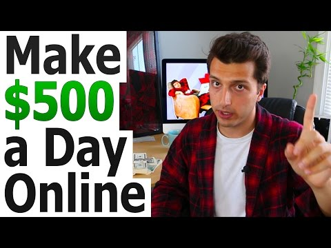 Make $500 a Day Online w/ Affiliate Marketing Basics
