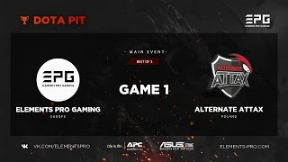 Elements Pro Gaming vs. Team Alternate Attax bo3 @ Dota Pit Game 1
