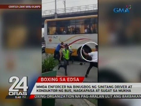 Video MMDA enforcer na binugbog ng sinitang driver at konduktor ng bus, nagkapasa at sugat sa mukha download in MP3, 3GP, MP4, WEBM, AVI, FLV January 2017