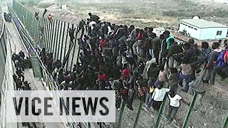 Ceuta Spain  city pictures gallery : Storming Spain's Razor-Wire Fence: Europe Or Die (Episode 1/4)