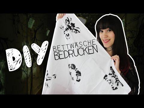 DIY | Bettwäsche bedrucken