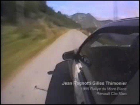 on-board jean ragnotti al rallye du mont-blanc 1995