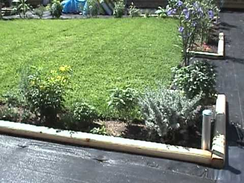 Gardening Tips Landscape Timber Borders.mpg