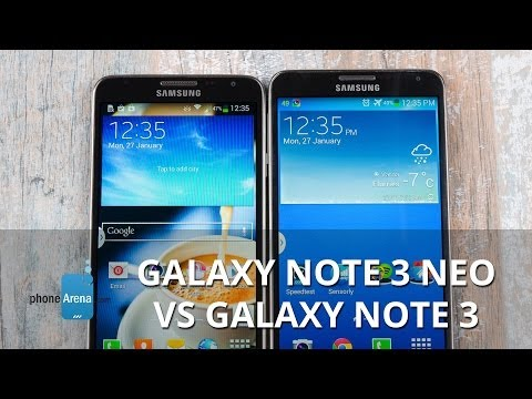 Samsung Galaxy Note 3 Neo vs Note 3: First look