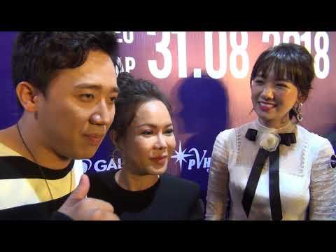 """Trấn Thành đưa bà xã Hari Won đi sự kiện bị """"ghệ già"""" Việt Hương chặt chém - Thời lượng: 5 phút, 22 giây."""