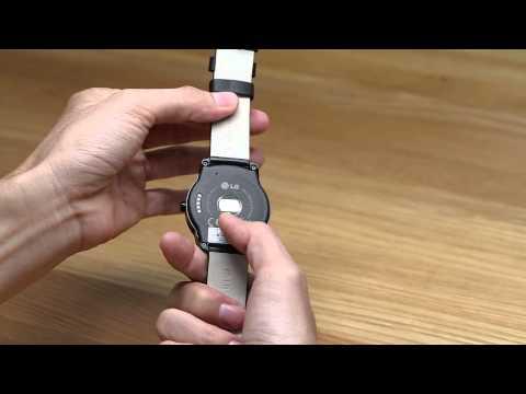 Trên tay LG G Watch R