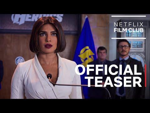 We Can Be Heroes starring Priyanka Chopra Jonas & Pedro Pascal | Official Teaser | Netflix