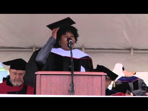 Majora Carter '88 – Honorary Doctor of Humane Letters – 2013 Wesleyan University Commencement