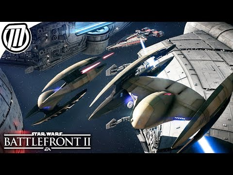 Star Wars Battlefront 2: All Era Space Battles - Clone Wars to the First Order