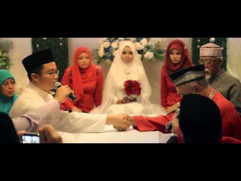 Malaysia Malay Wedding – Solemnization of Asyraf & Sabrina by Digimax Video Productions