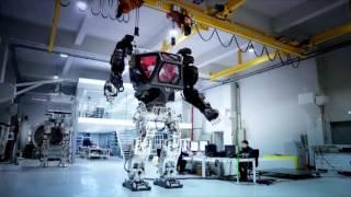 Первые шаги аватара: четырёхметровый робот учится ходить