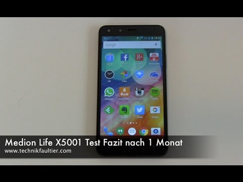 Medion Life X5001 Test Fazit nach 1 Monat
