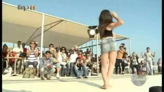 مسابقه رقص و دختر کوچولو ایرانی و باباکرم