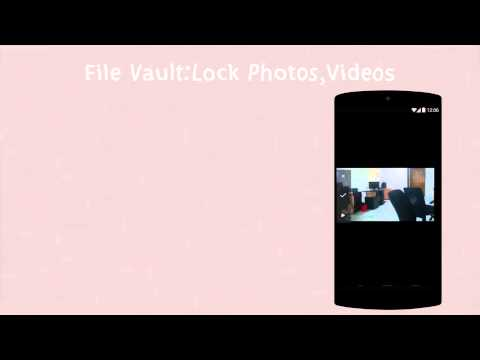 Video of File Vault+Lock Photos,Videos
