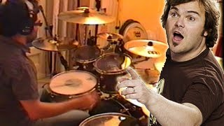Vadrum Vs Tenacious D (Drum Video)