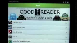 Good e-Reader App Market HD YouTube video