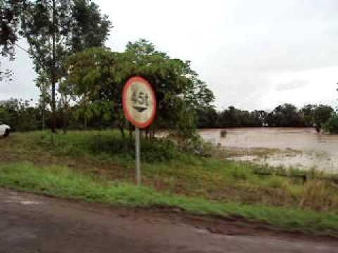 Rio Itoupava que passa pelo municipio de Ermo. 12/09/09