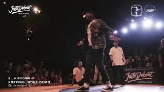 Slim Boogie – Juste Debout Barcelona 2020 Judge demo