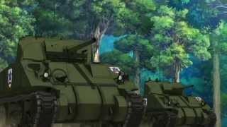 Video Girls Und Panzer - AMV - Saunders - To Arms In Dixie MP3, 3GP, MP4, WEBM, AVI, FLV Juli 2018