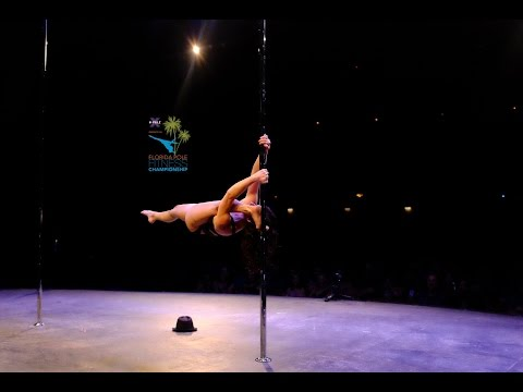 1st Place Semi-Pro Winner Florida Pole Fitness Championship 2015