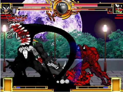 carnage vs venom. Wolvenom and Carnage Cosmic vs