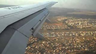 Pouso em Brasília - 737-700 GOL  - Voo 1909 RBR-BSB