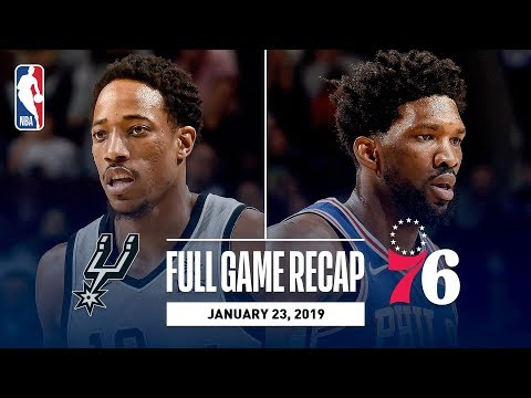 Video: Full Game Recap: Spurs vs 76ers   SAS & PHI Go Down To The Wire!