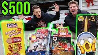 Video SPENDING $500 ON FIREWORKS FOR NEW YEARS EVE! - New Years Eve 2017/2018 MP3, 3GP, MP4, WEBM, AVI, FLV Maret 2019