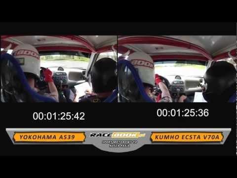 Yokohama A539 VS Kumho Ecsta V70A - test tires - HD