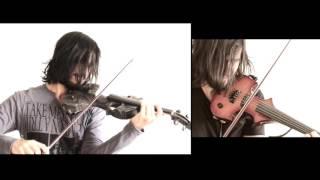 """Voice"" - Skull electric violin - Fender Amp""Guitar"" - 5 strings Electric violin - Boss GT100Strings - Acoustic Violins/octave violinPiano, Drums - MIDIThiago Teixeira -Pra quem pergunta: sim, sou brasileiro ;)https://twitter.com/metal_violinhttps://instagram.com/metalviolin"