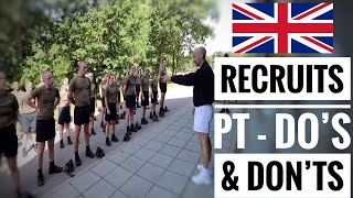 Video British Army Recruits New Intake | Do's & Don'ts Basic Training MP3, 3GP, MP4, WEBM, AVI, FLV Agustus 2019