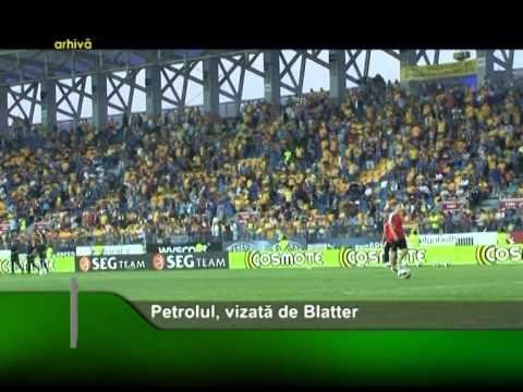 Petrolul, vizată de Blatter