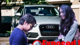 Audi Gold Digger Exposed | Pranks in India 2016 | ft. Seasons with Palak