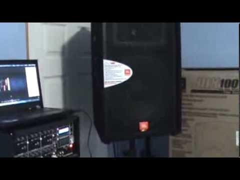 Bocinas JBL Modelo JRX 115 Revisión y Prueba