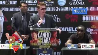 Canelo Alvarez enojado con Erislandy Lara
