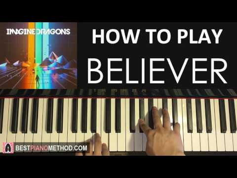 HOW TO PLAY - Imagine Dragons - Believer (Piano Tutorial Lesson)