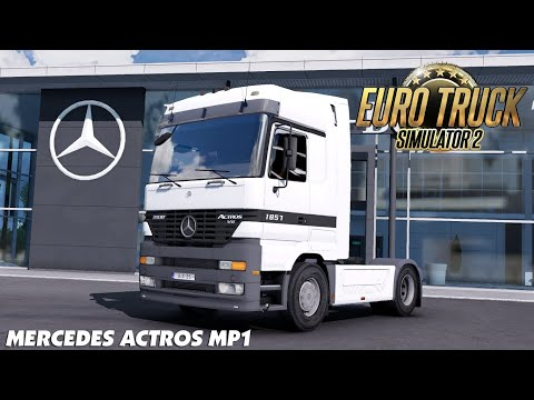 Mercedes Actros MP1 Update Fix bug + add new sound 1.39