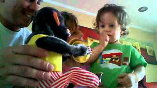 ADRIANNA MEETS THE MUSICAL JOLLY CHIMP from Pawn Stars TV Show