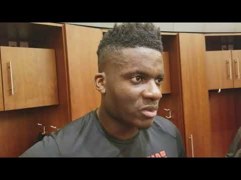 Clint Capela after Houston's win over Wizards