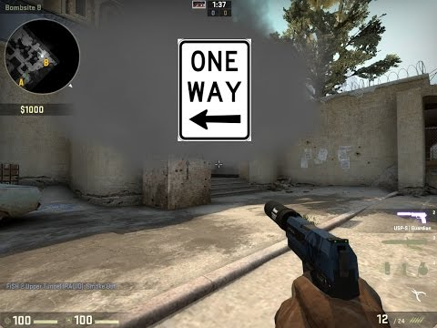 tunnel - A useful smoke to hold B, where you can see the enemy's legs as they exit tunnel, but they cannot see you. If you liked this, a sub would be great as I upload a lot of tricks and tips! If...