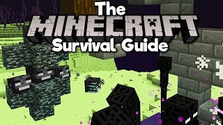 Automatic Wither Rose Farm! • The Minecraft Survival Guide (Tutorial Let's Play)[Part 248]