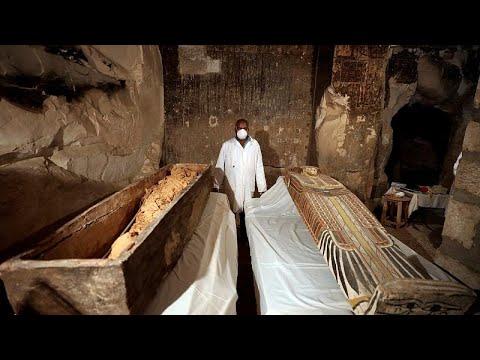 Ανακαλύφθηκε πολύτελης τάφος της εποχής των Φαραώ