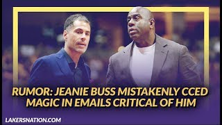 Lakers Rumors: Jeanie Buss Accidentally Included Magic on Emails from Pelinka Criticizing Him by Lakers Nation