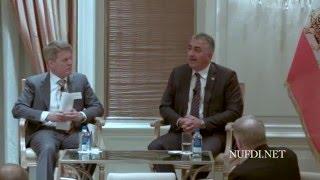 شاهزاده رضا پهلوی جلسه پرسش و پاسخ تگزاس