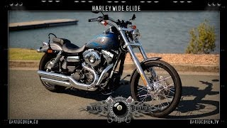 8. 2014 H-D Wide Glide Test Ride