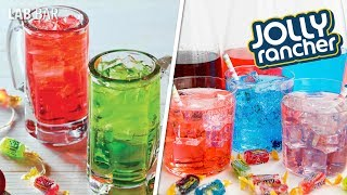 Como preparar VODKA JOLLY RANCHER l Receta Facil l Lab Bar