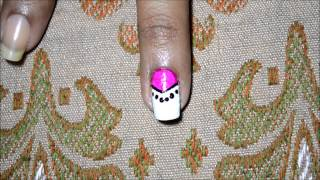 3 very simple nail art designs using striping tapes - YouTube