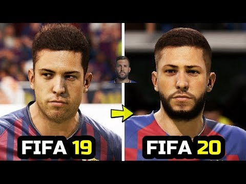 FIFA 20 New Face Added ( Jordi Alba, Costa, Suarez )